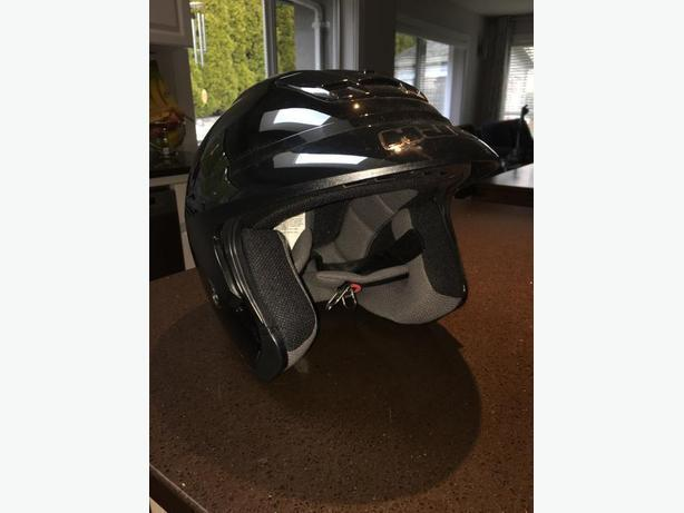 Black HJC Mototrcycle Helmet