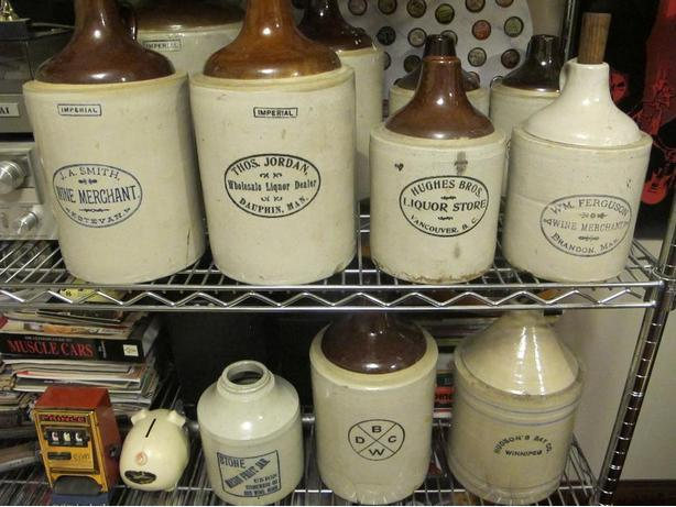 WANTED: Old Stoneware Crocks & Jugs With Advertising
