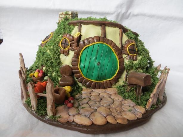 Polymer Decorative Hobbit House - REDUCED