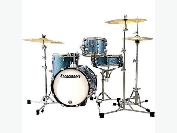ludwig breakbeat drum set with cymbals and stool west shore langford colwood metchosin. Black Bedroom Furniture Sets. Home Design Ideas