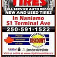 New Tires @ +/_ Half Price