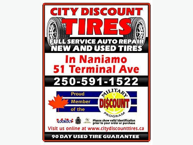 New Tires @ +/_ Half Price