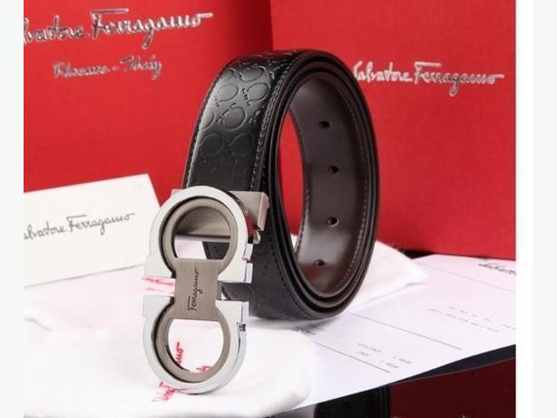 New Salvatore Ferragamo Premium Genuine Leather Belt