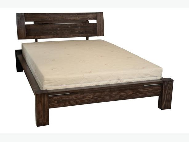 New price - Unused queen-sized solid pine bed with mattress