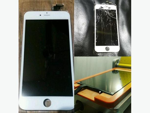 Iphone Front Screen Glass Repair- Save $$$, Reduce Waste!
