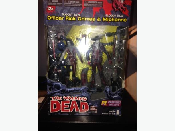 walking Dead 2 pack figures