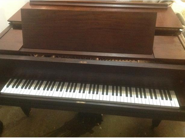 IVERS&POND grand piano and bench Best Offer