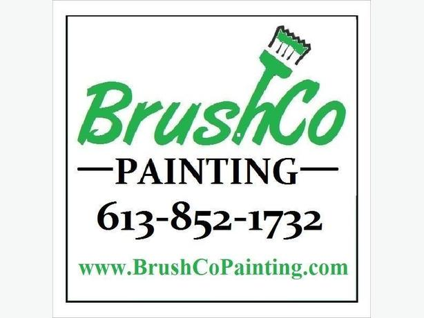 BrushCo Painting full service affordable painters only in Ottawa, Ontario.