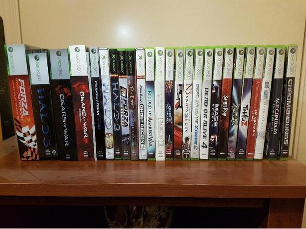 XBOX 360 & 25 games