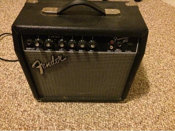 fender 15g guitar amp