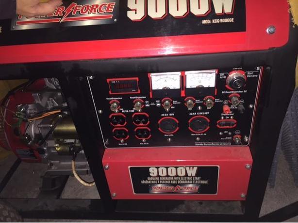 King Canada 9000W Gasoline Generator