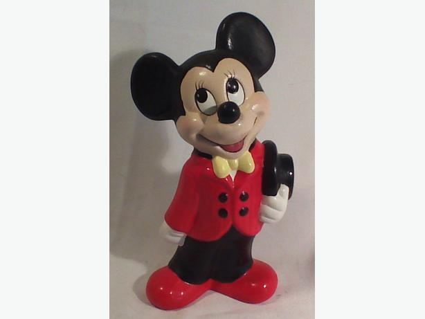 Mickey Mouse ceramic figurine in box