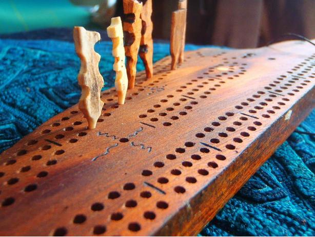 Driftwood Cribbage Boards