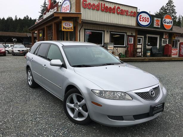 2005 mazda 6 wagon manual transmission v6 only 166 000 km malahat including shawnigan. Black Bedroom Furniture Sets. Home Design Ideas