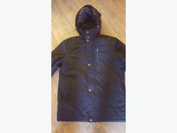 "Brand New ""Claiborne"" Mens L black jacket"