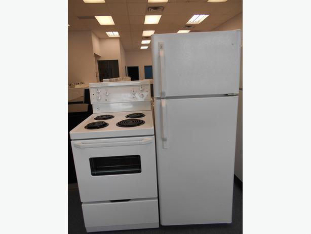 "MATCHING 24"" REFRIGERATOR AND STOVE"