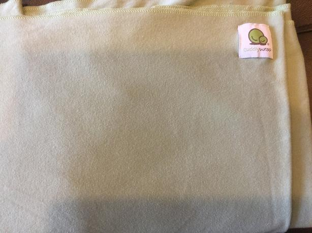 Peapod Cuddly Wrap - made in Canada - like new