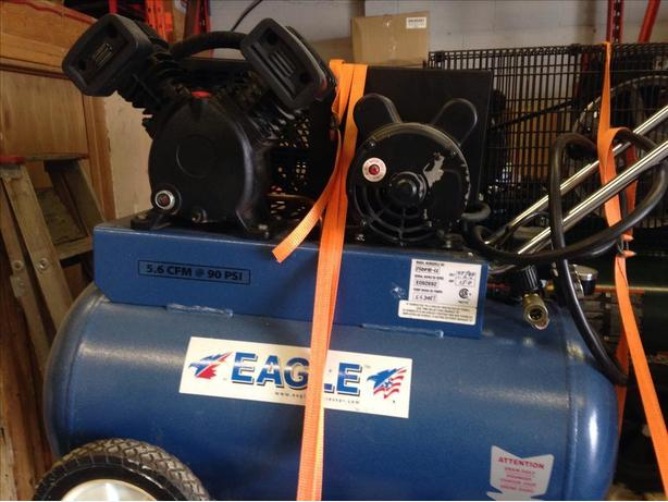 Eagle 20 gal compressor