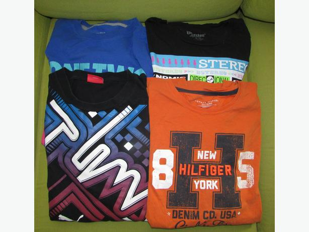 TOMMY HILFIGER, PUMA, Bluenotes, NIKE T-Shirts - Mens XL