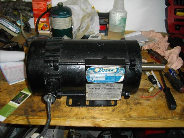 3/4 HP Explosive Proof Electric Motor