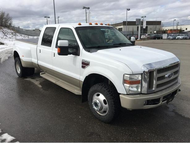 2008 Ford F-350 Super Duty King Ranch Dually 6.4L Diesel Crew Cab Long Bed