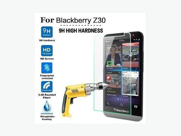 Tempered Glass Screen Protector For Blackberry Z30