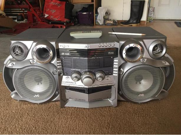 JVC home stereo