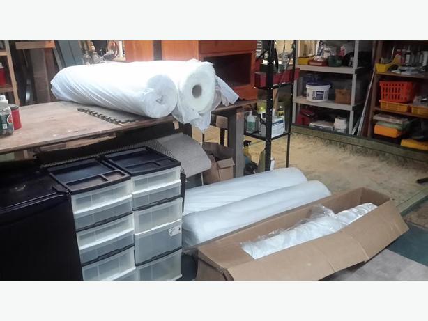fibreglass cloth and roving