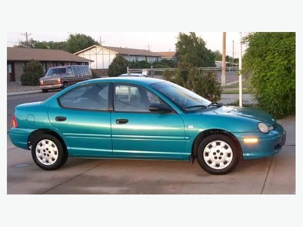 1997 Plymouth Neon 4door sedan