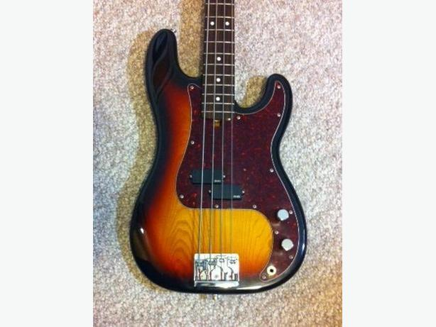 "1982 FENDER ""JV SERIES"" PRECISION BASS"