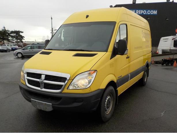 "2008 Dodge Sprinter 2500 High Roof Cargo Van Diesel 144"" wheel base"
