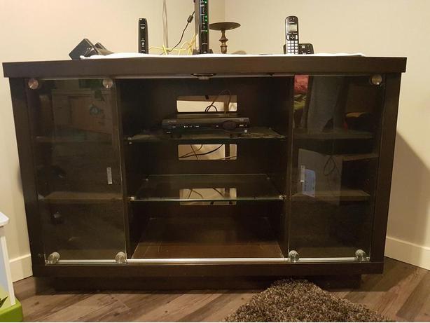 Corner TV/Stereo Stand