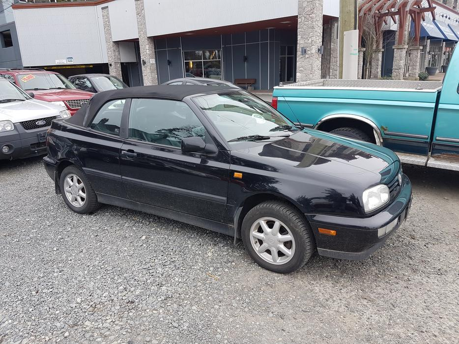 Volkswagen In Durham >> 1997 Volkswagen Golf Cabriolet Convertible West Shore: Langford,Colwood,Metchosin,Highlands ...