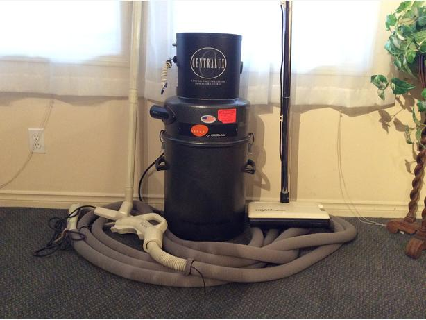 Electrolux Central Vacuum with Beam accessories
