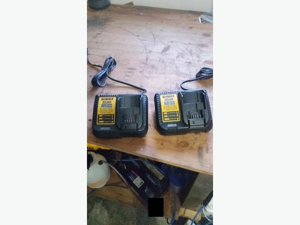 Dewalt 20v chargers