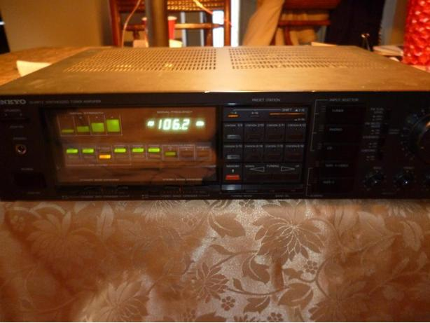 Onkyo TX-37 AM/FM Stereo Tuner Amplifier with Phono Amp