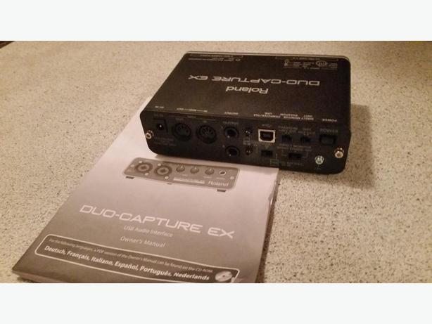 Roland Duo Capture Recording device
