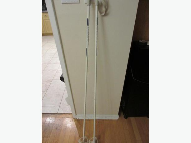 Cross Country Ski Pole:  145cm with straps