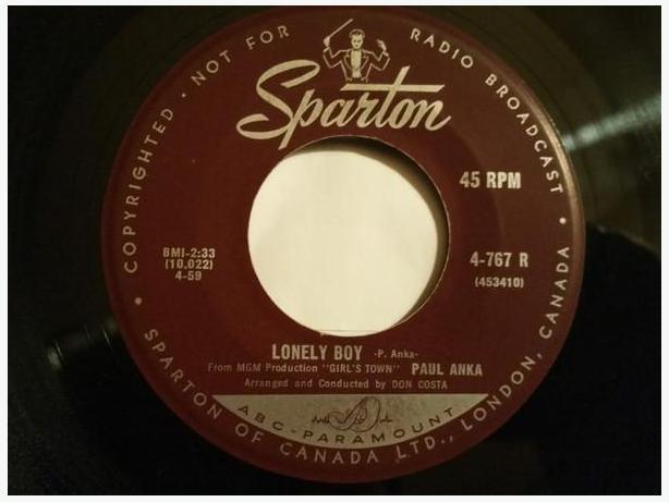 Jukebox: Fifties 45 RPM Records