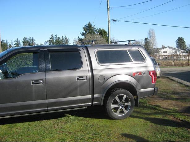 2015 Ford F150 Super Crew 5 6 Canopy Central Saanich