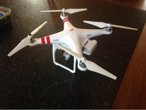 REDUCED DJI Phantom 2 Vision+ Quadcopter with FPV HD Video