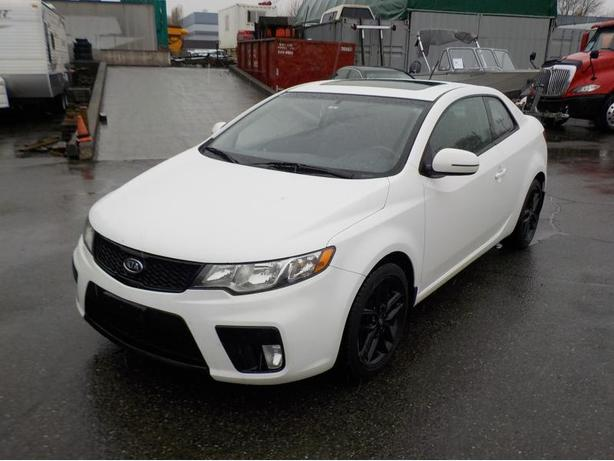 2012 Kia Forte Koup SX Manual