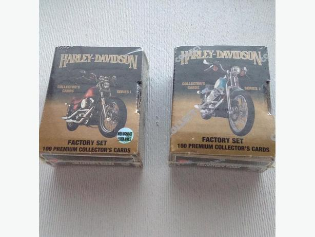Harley Davidson collector card sets