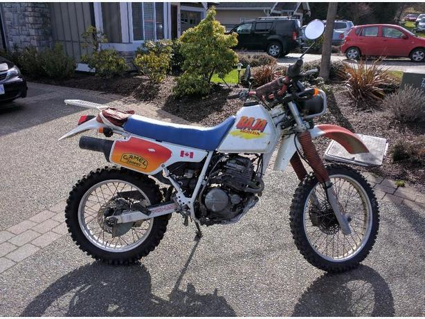 1990 honda xlr 250 baja west shore langford colwood metchosin highlands victoria. Black Bedroom Furniture Sets. Home Design Ideas