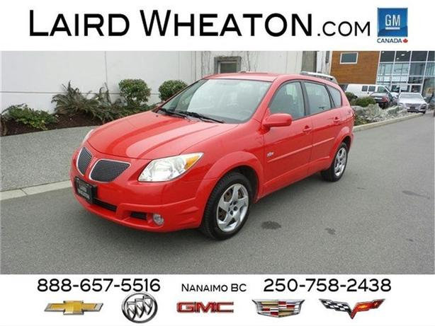 2005 Pontiac Vibe Low Kms Outside Comox Valley Comox Valley