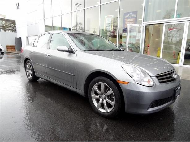 2006 Infiniti G35X Was $11,995 Now $7,888 NO ACCIDENTS