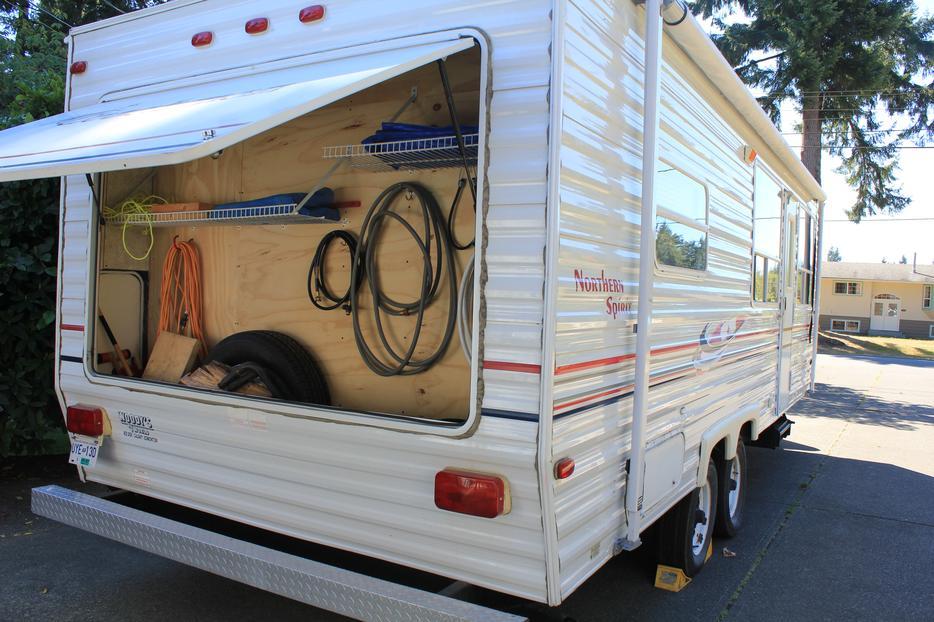 24 Foot Travel Trailer for rent Black Creek, Campbell River