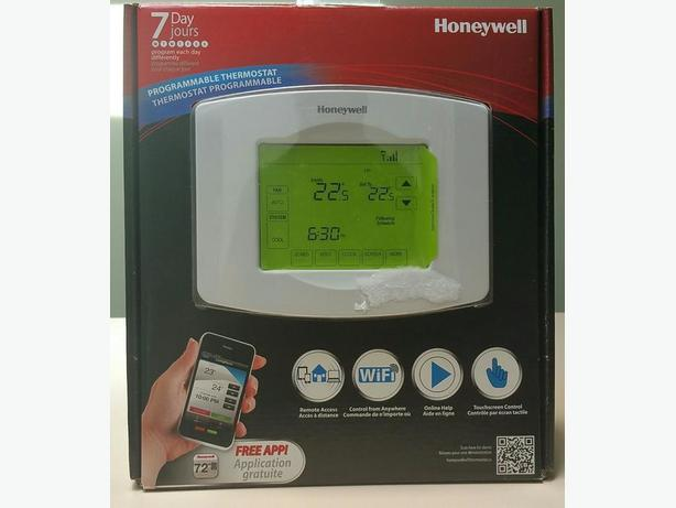 Honeywell programmable WiFi home thermostat