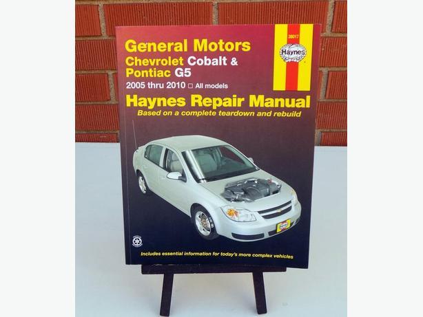 Gm Chevrolet Cobalt  U0026 Pontiac G5 2005