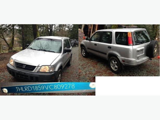 I am looking for a 1997 Honda CR-V parts car  Jon 2507201030
